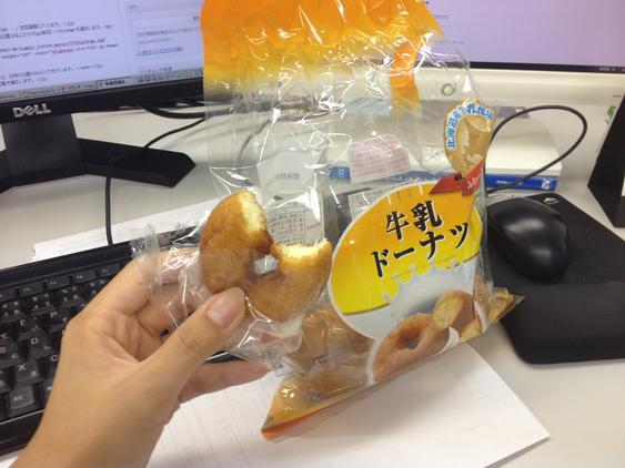 しっとり系のドーナツ好きです
